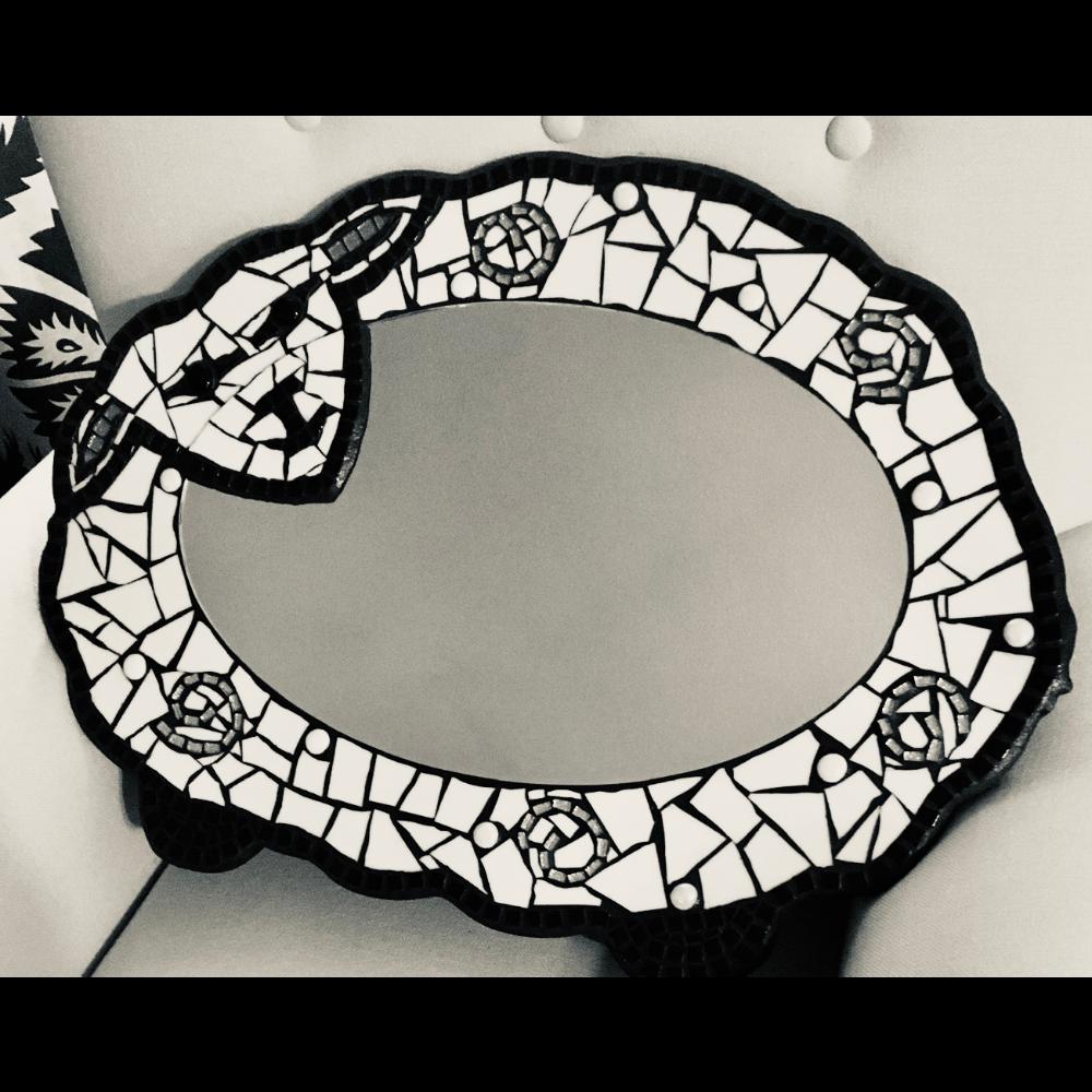 Mosaic Lamb Mirror