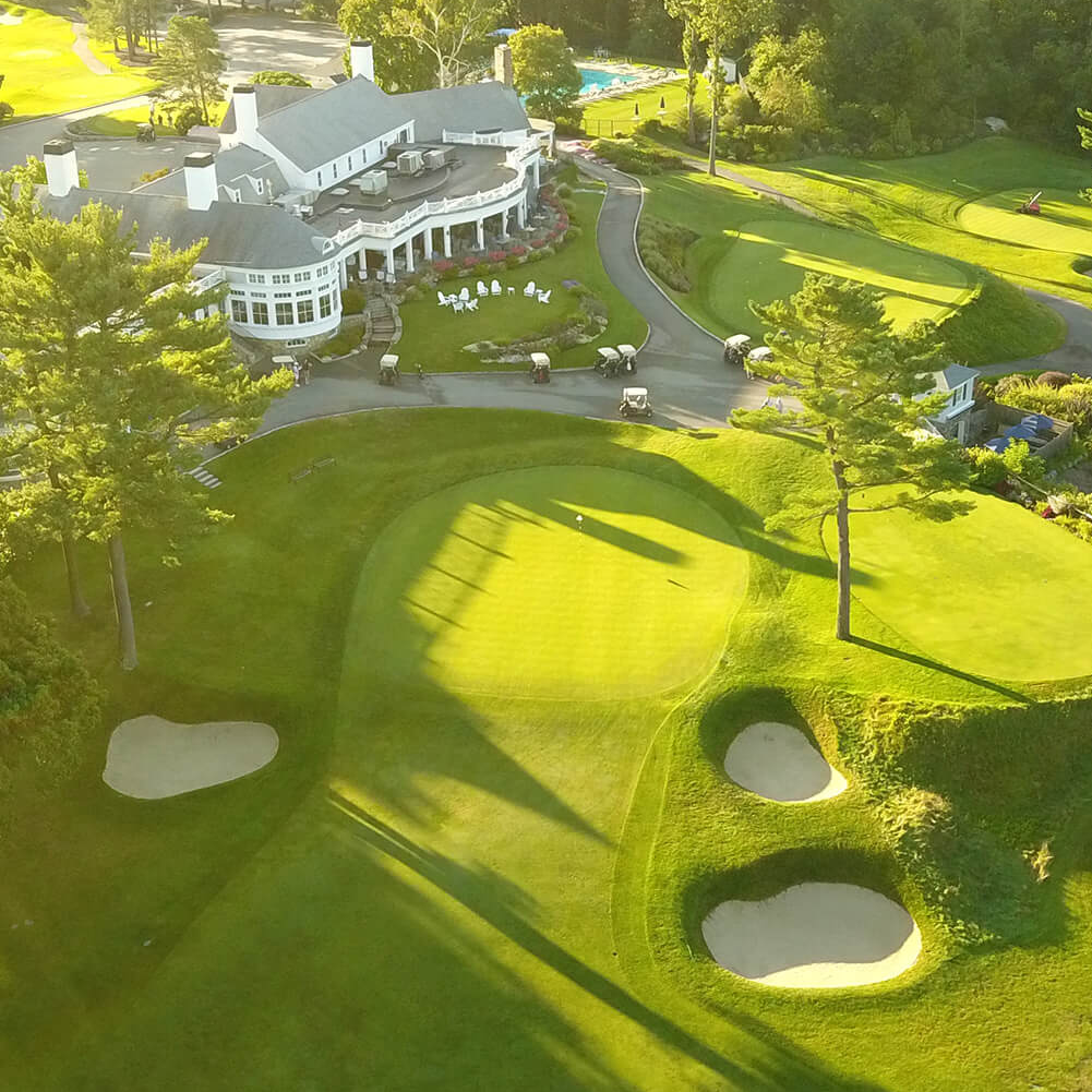 Round of golf at Salem Country Club or Farm Neck Golf Club