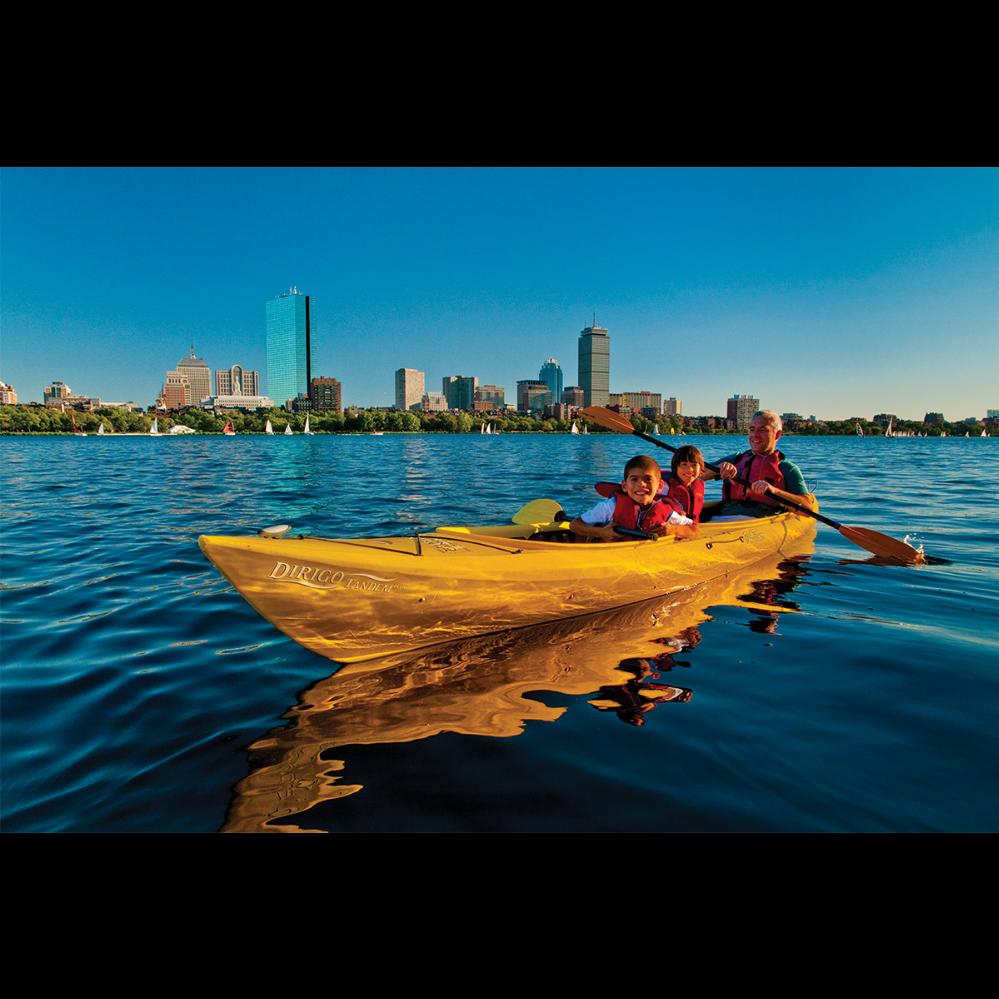 Charles River Canoe & Kayak full day rental