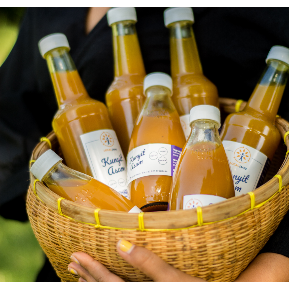 1-month subscription of Local Jamu (4L)