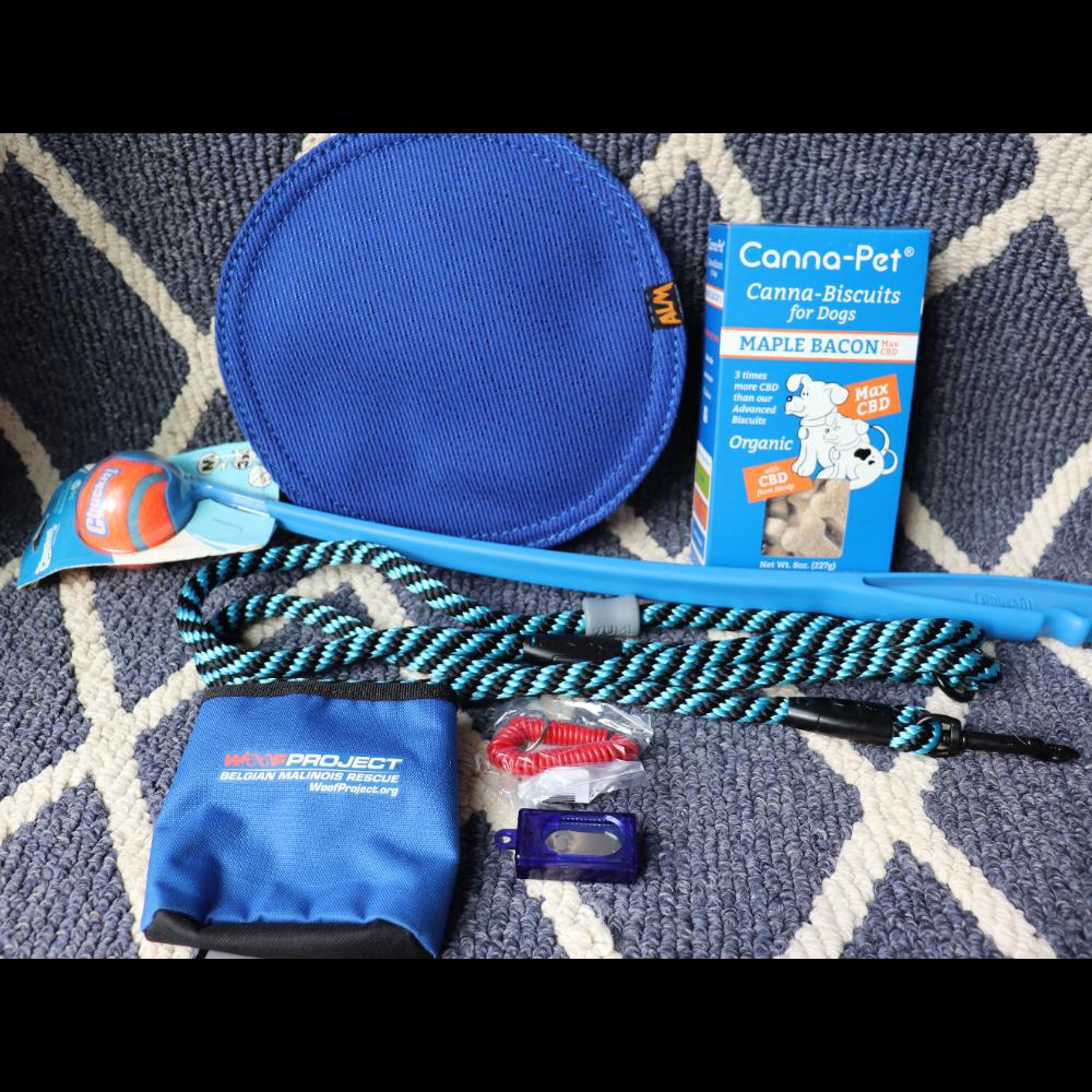Blue Woof Project Basket