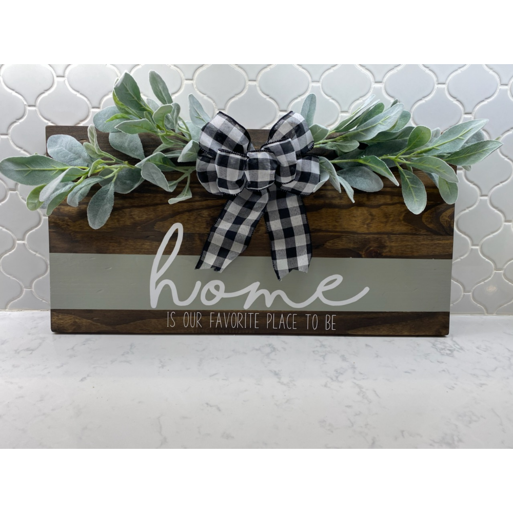 Home Decor Sign from Smith & Lundy
