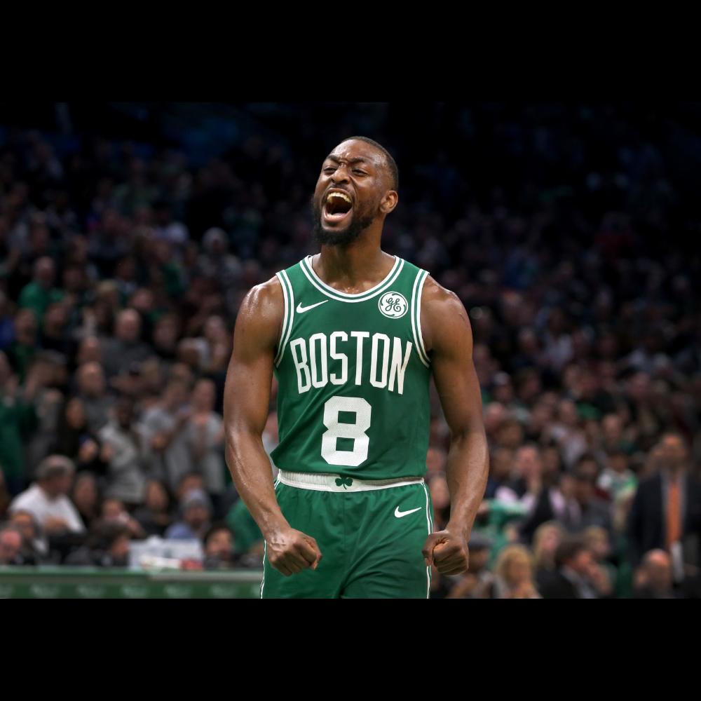 Autographed Kemba Walker Celtics Jersey
