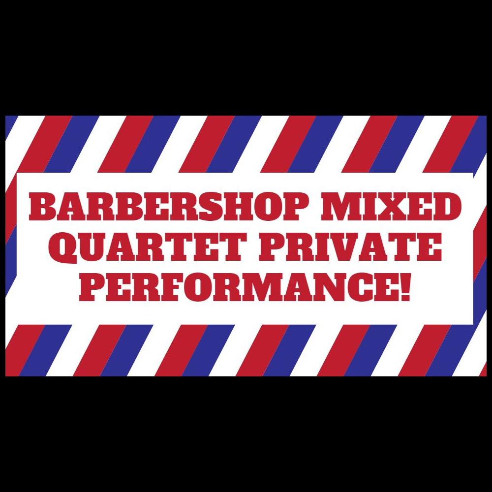 Outdoor Barbershop Quartet Performance