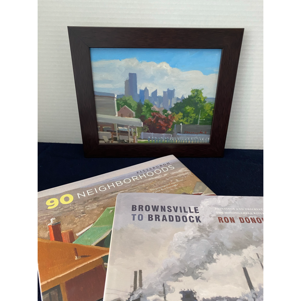 City View and Books by Ron Donoughe