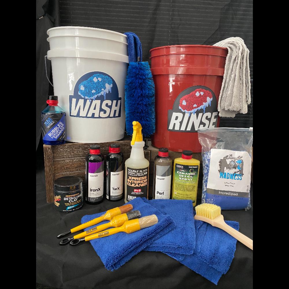 Wax On, Wax Off (Car Detailing Supplies)