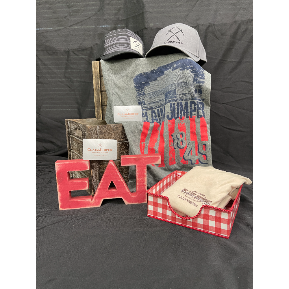 Claim Jumper Gift Card Package