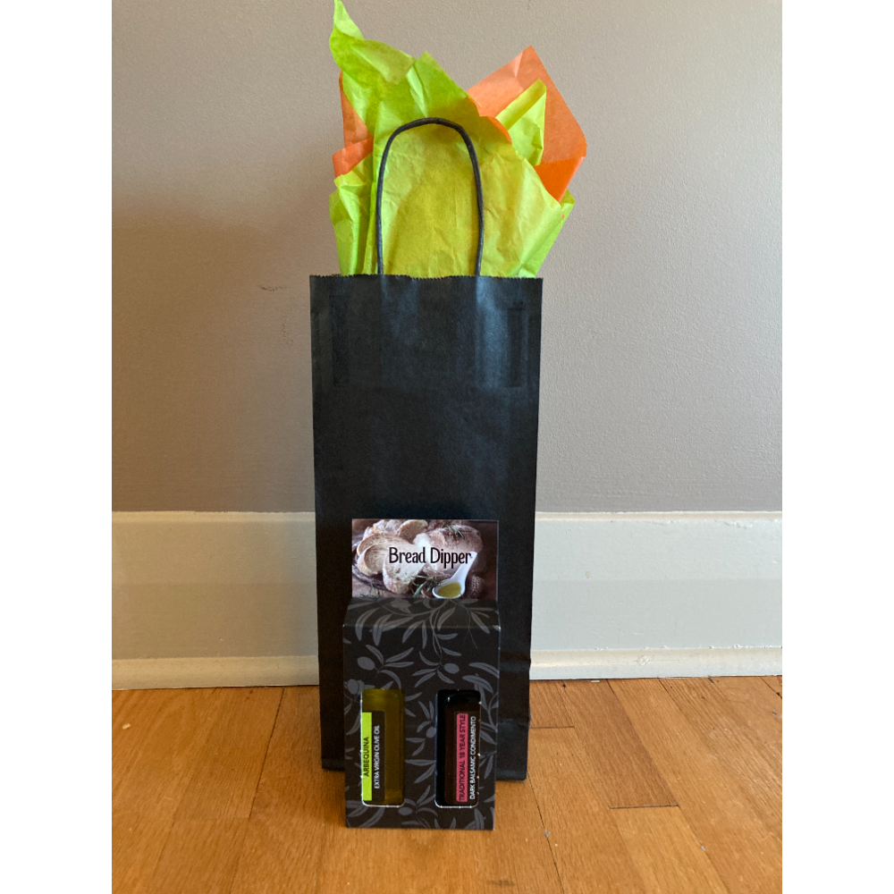 $25 Olive Oil Company Gift Certificate & Bread Dipper Pack