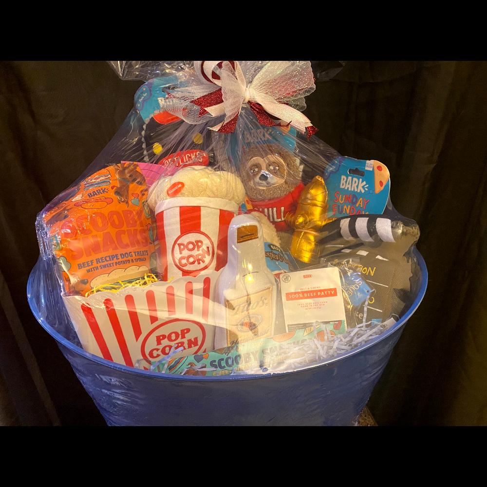 Pettlicks + Chill Doggie Toy & Treat Basket