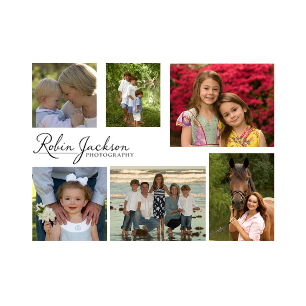 """Robin Jackson Photography 8""""x10"""" Family Portrait. Pets welcome!"""