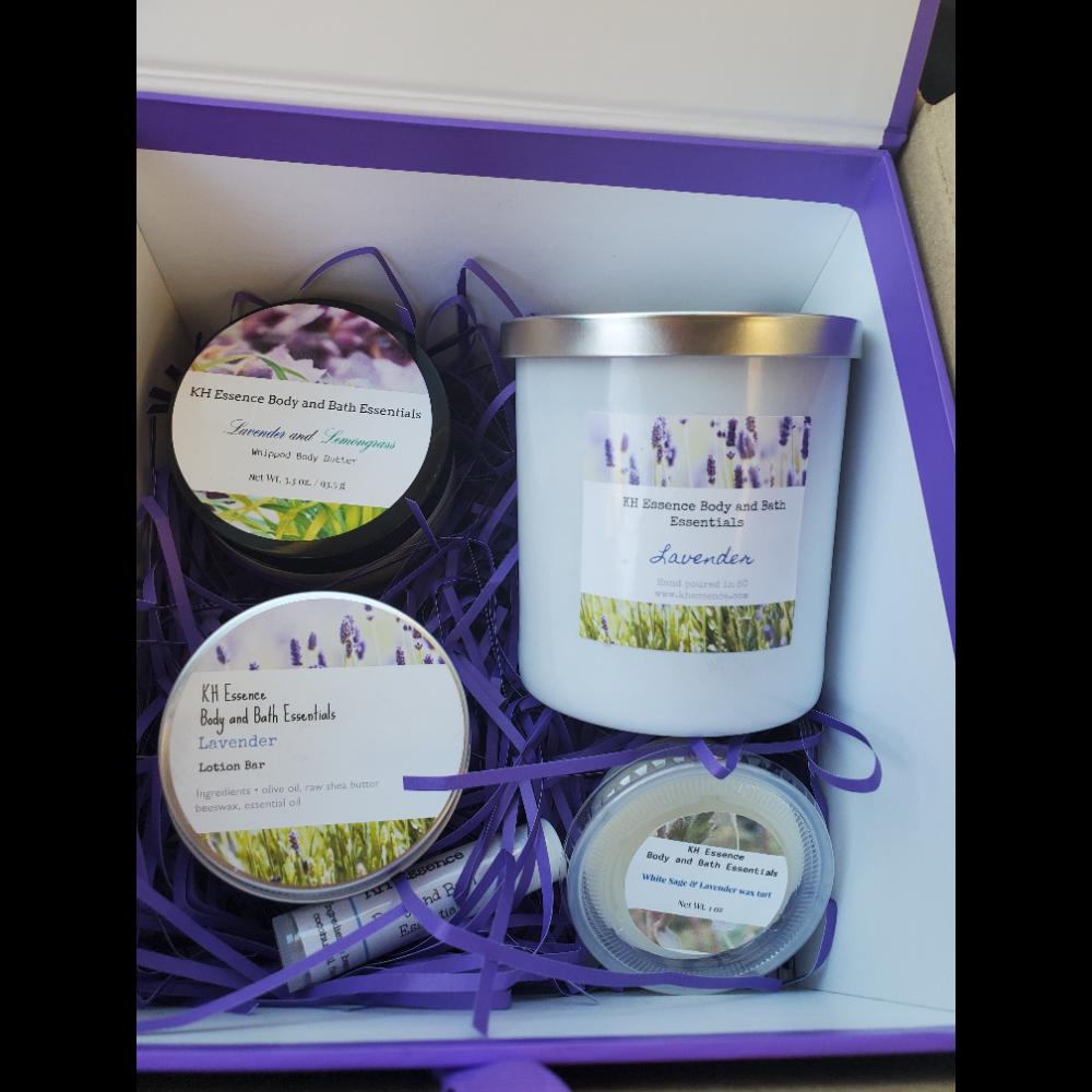 KH ESSENCE Lavender gift box