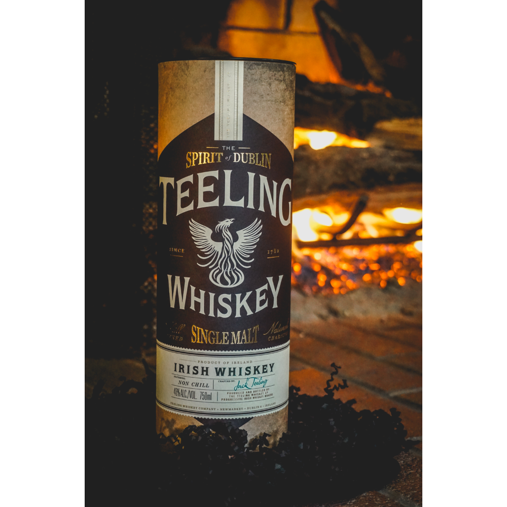 The Spirit of Dublin Teeling Single Malt Irish Whisky 750 ml