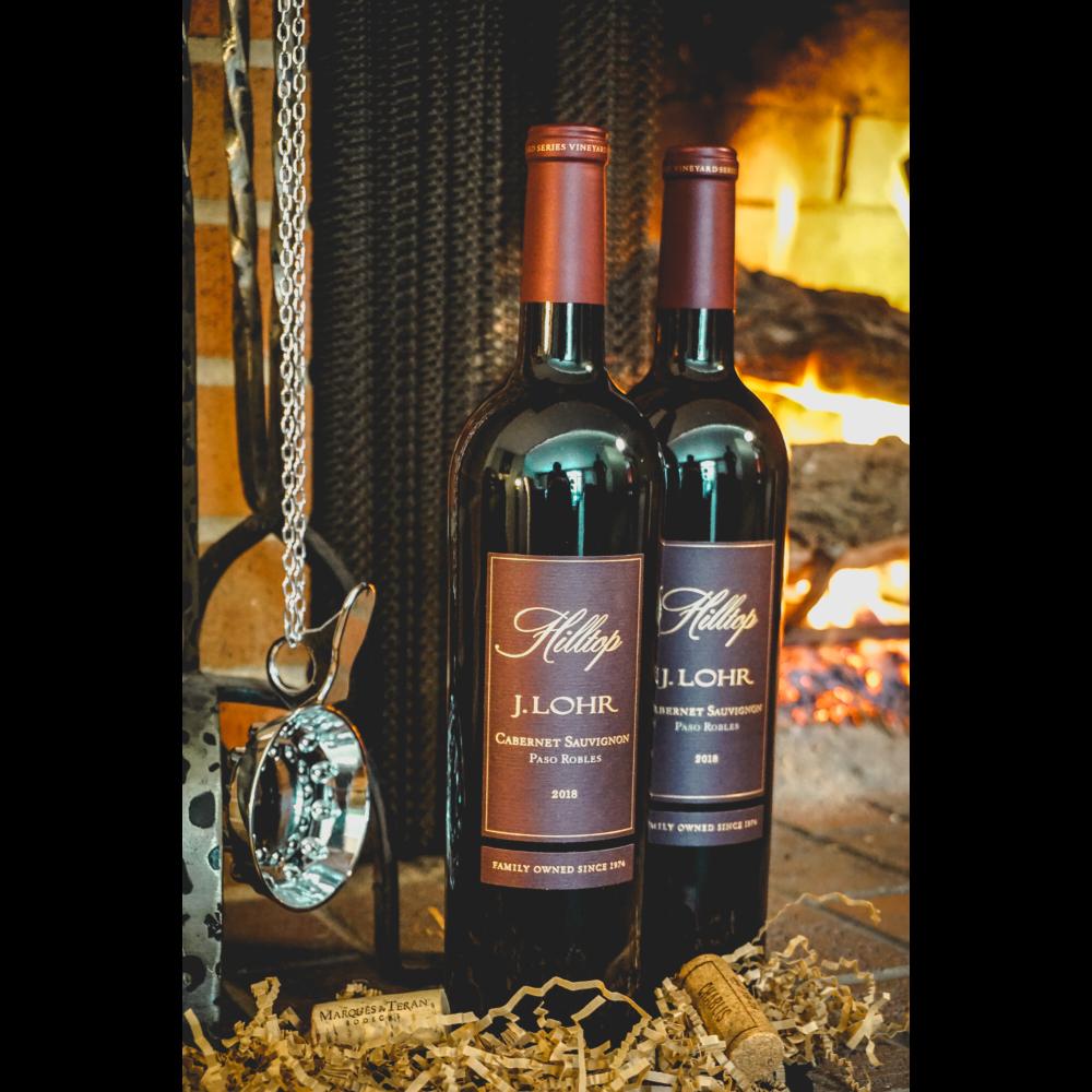 2018 J LOHR Cabernet Sauvignon Hilltop 750 ml (2 bottles)
