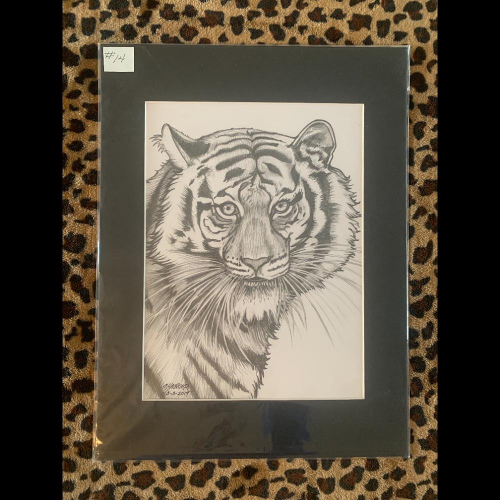 Whitney The Terrific Tiger (Not Framed)