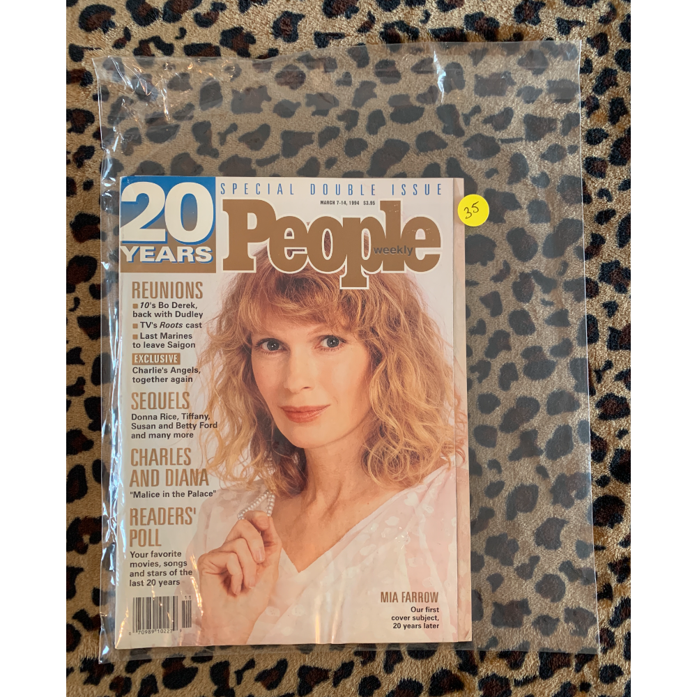 People Magazine - March 7-14, 1994 - 20th Anniversary Issue