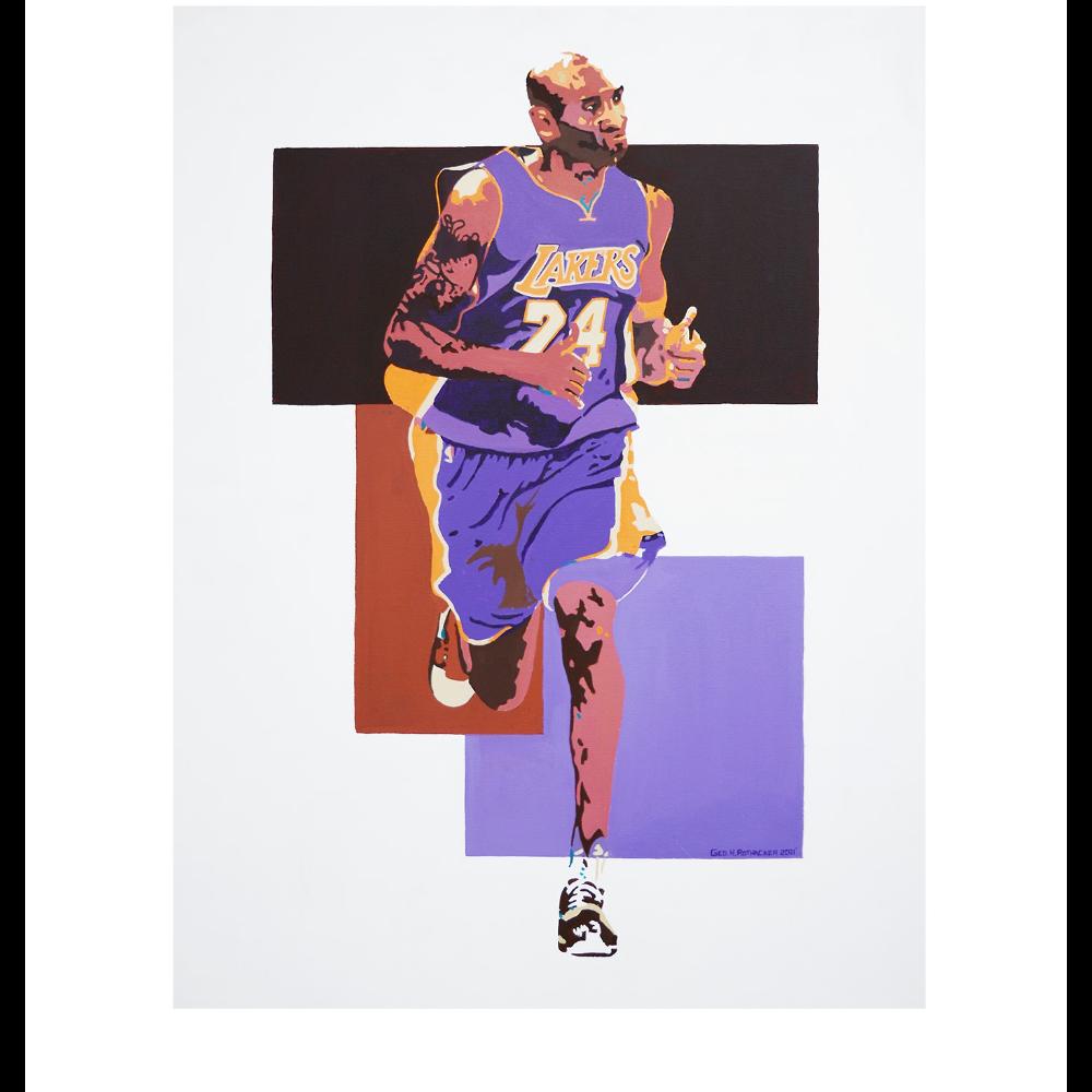 Kobe Bryant Print by George Rothacker