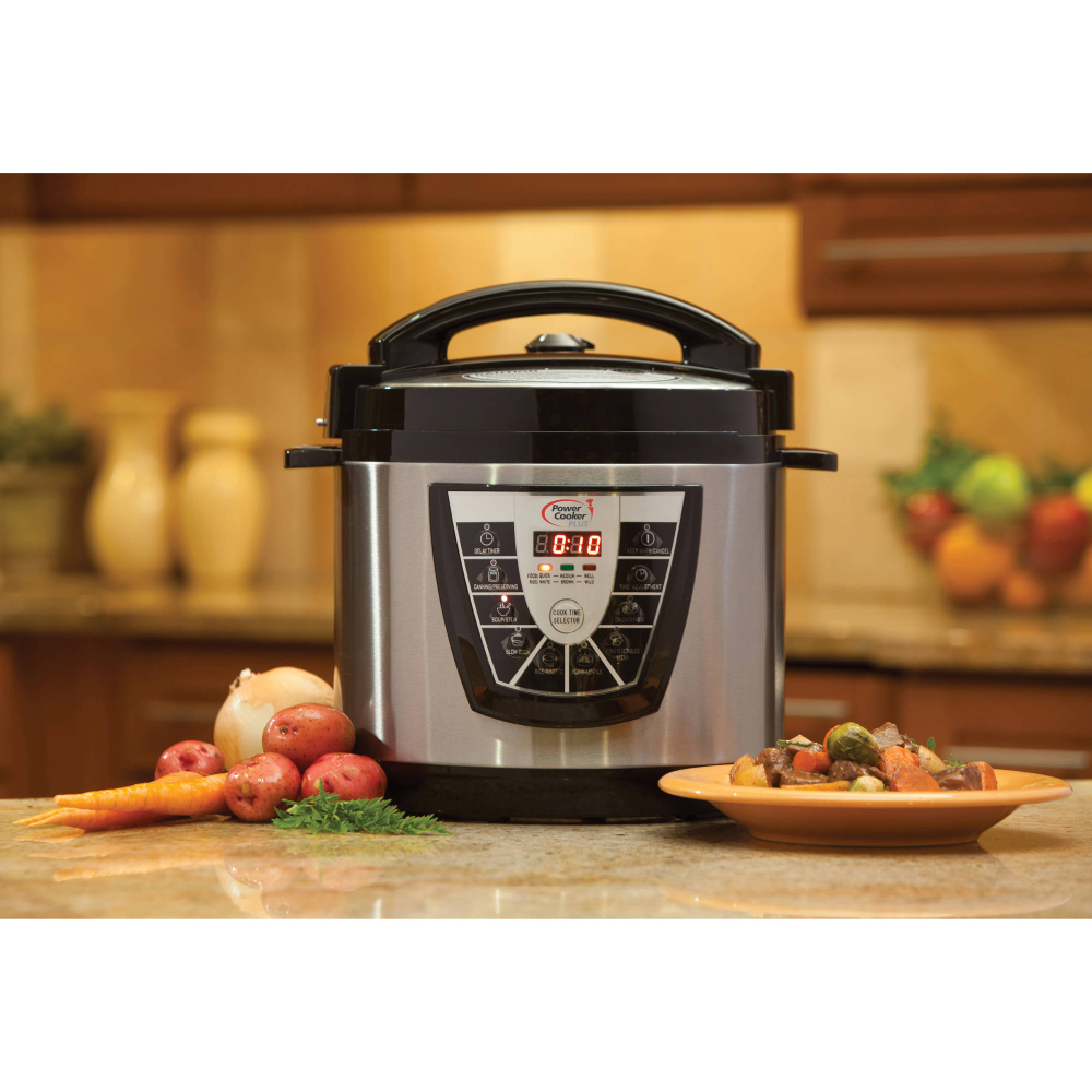 Power Cooker Plus Pressure Cooker, 8-Quart