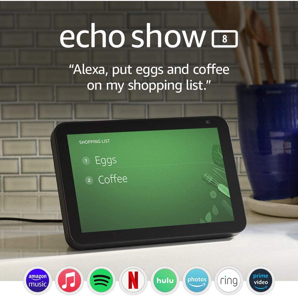 Make Life Easier with the Echo Show 8
