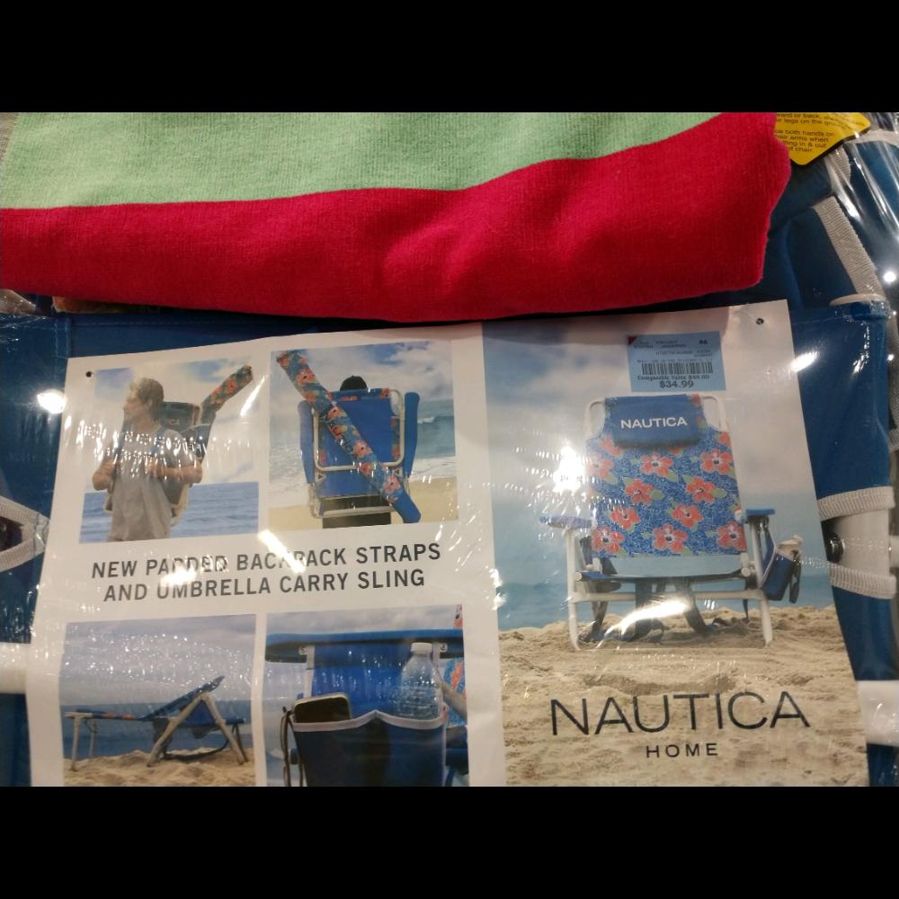 Beach Chair/Beach Towel