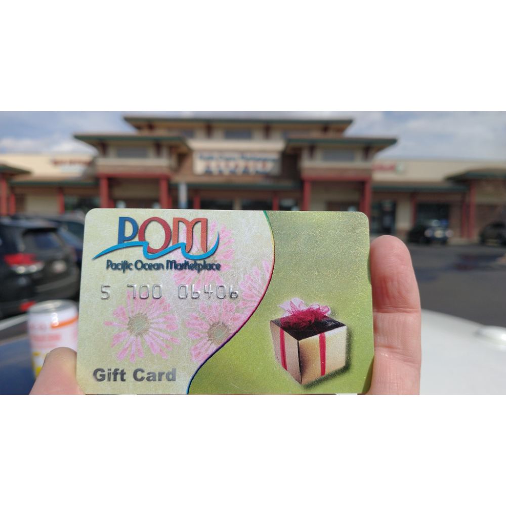 $25 gift card from Pacific Ocean