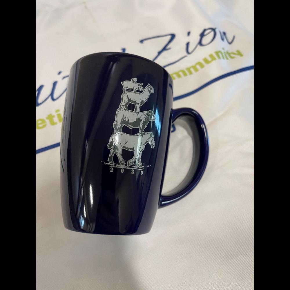 104th PA Farm Show Collectible Blue Mug
