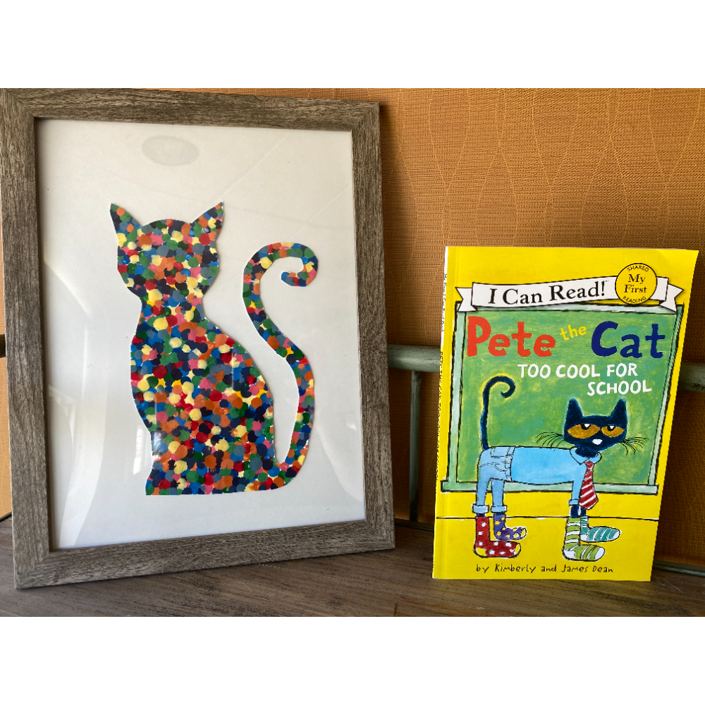 Paintings from Miss Witmer's Kindergarten Class