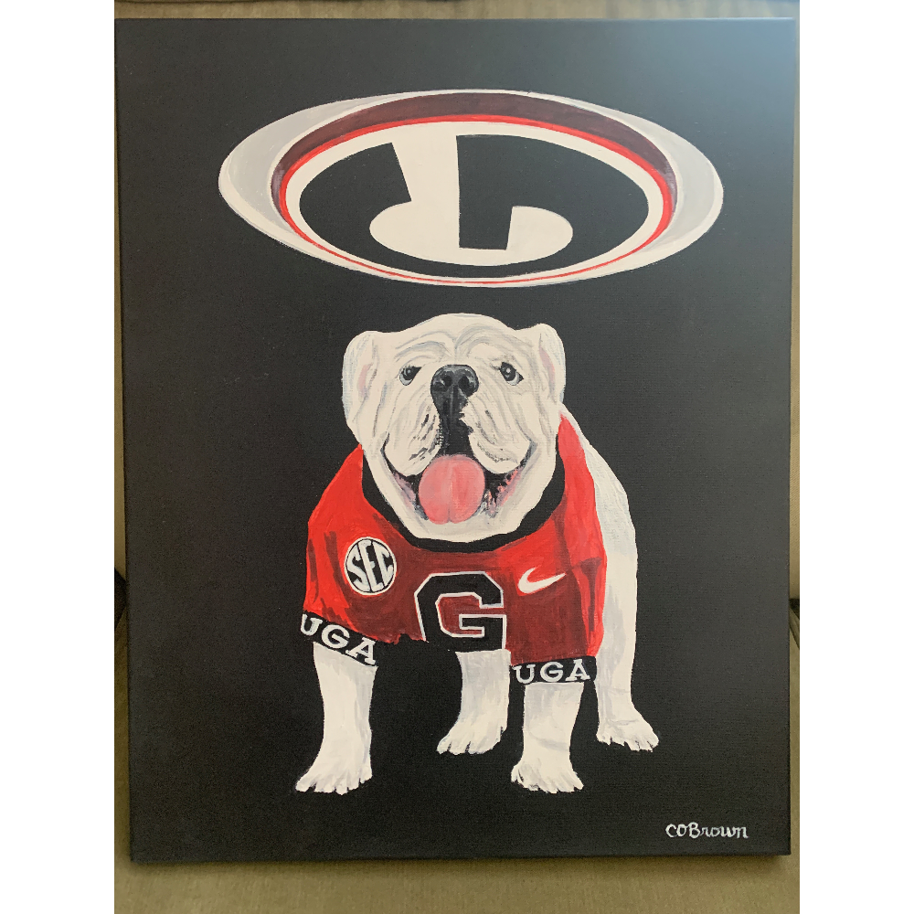 """""""UGA Ceiling G"""" by C. O. Brown"""