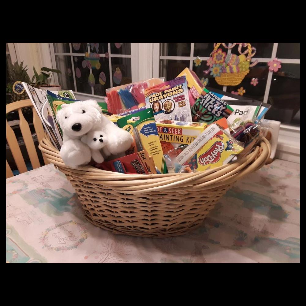 Children's Craft Basket