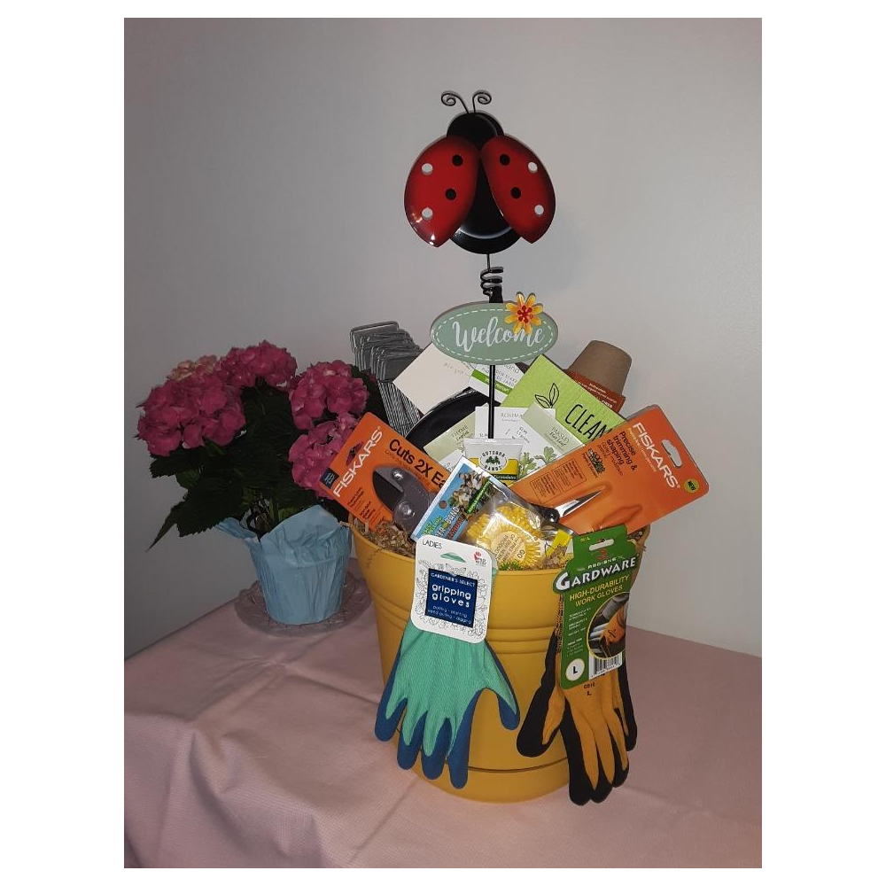 Lady Bug Gardening Basket