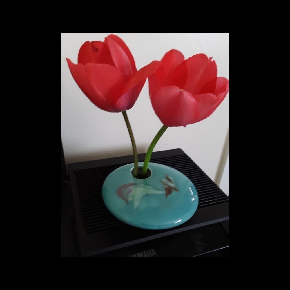 Georgetown Pottery Ikebana Small Round Vase