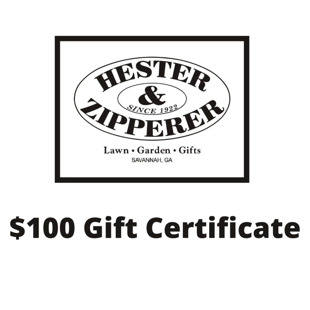 Hester & Zipperer Gift Certificate