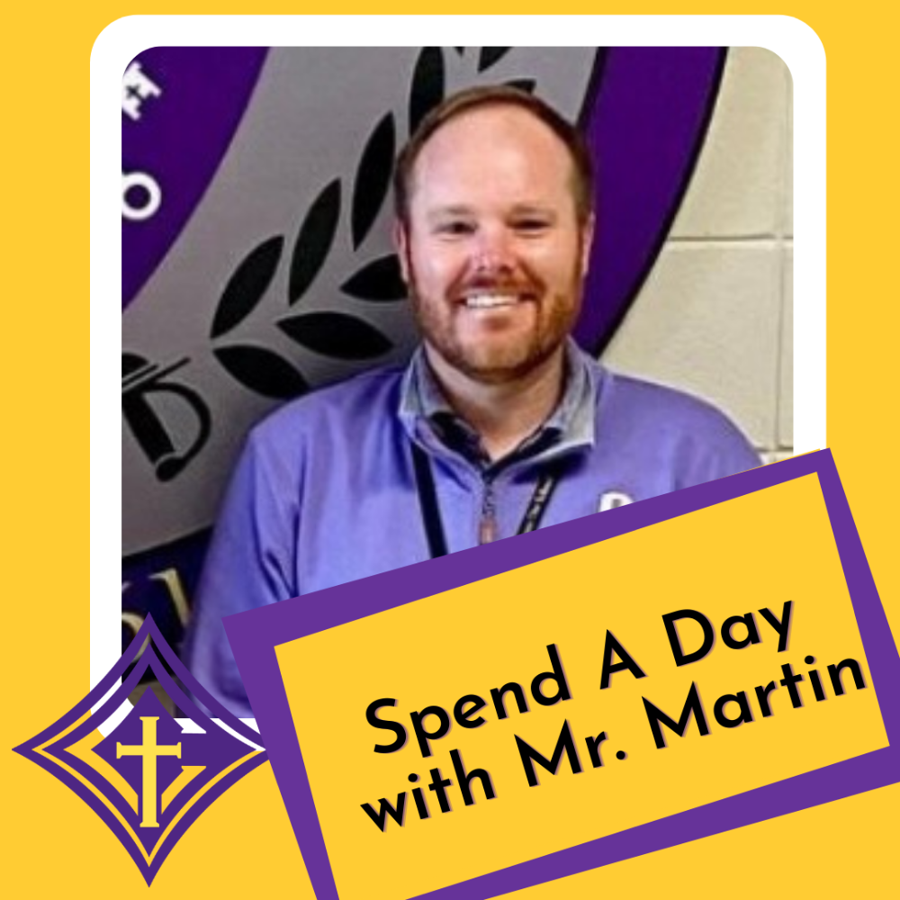 Spend a Day with Mr. Martin