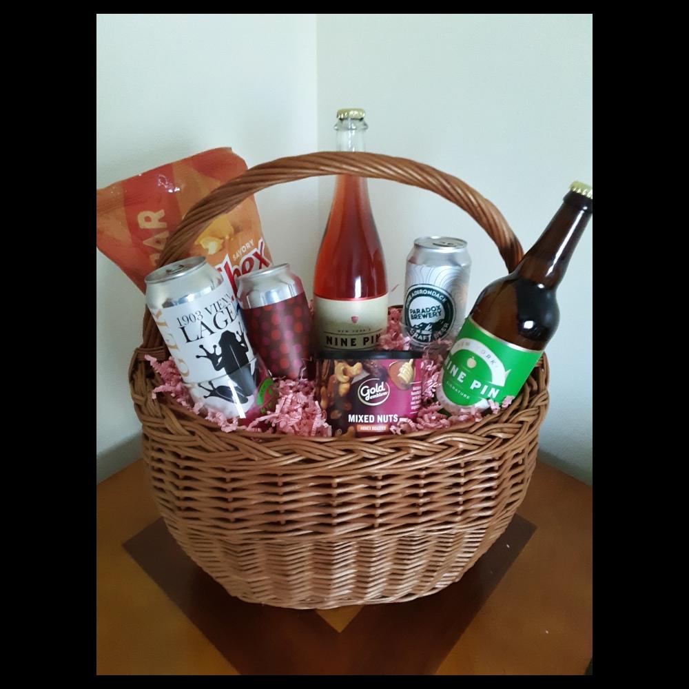 Cider and Brew Tasting Basket