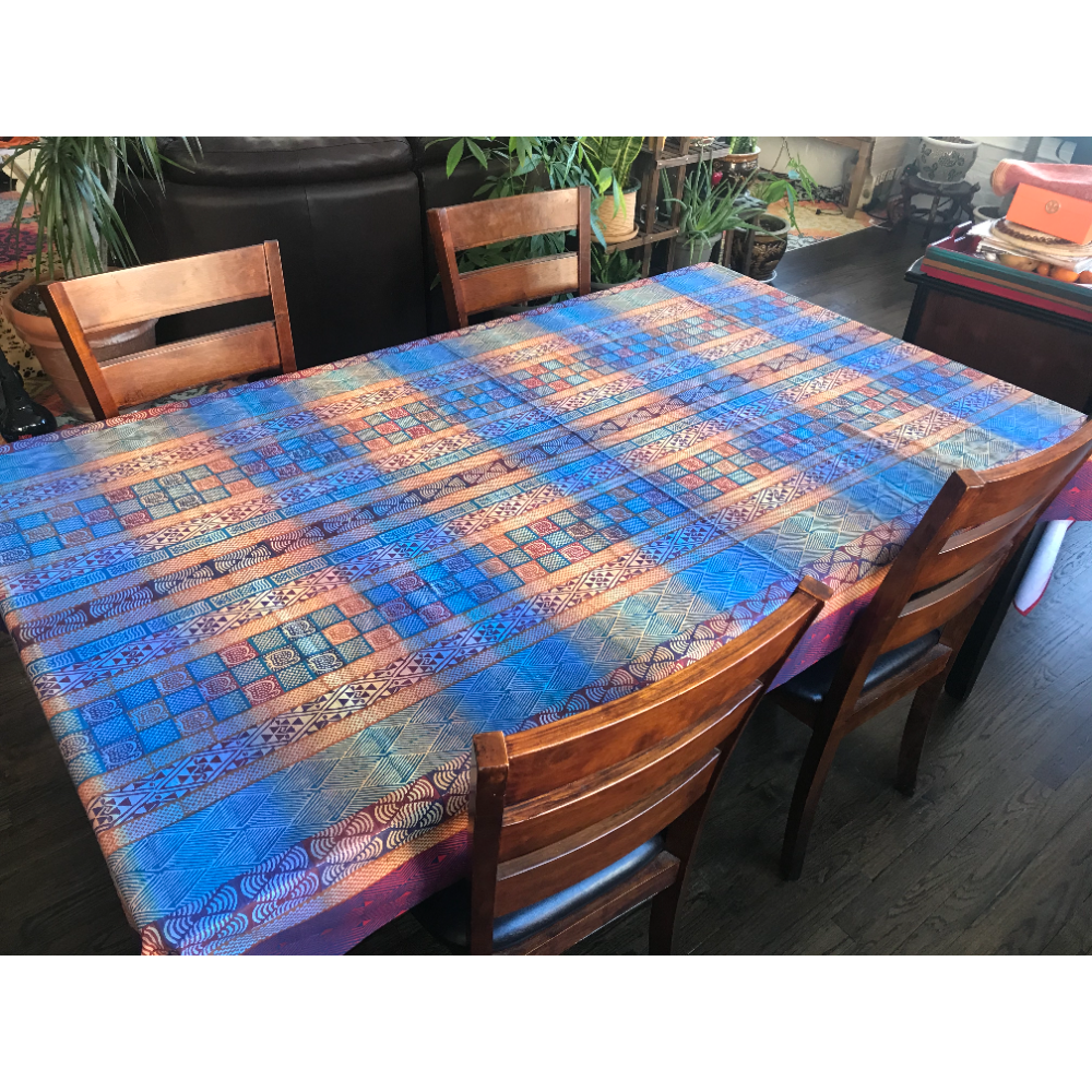 African Print Tablecloth