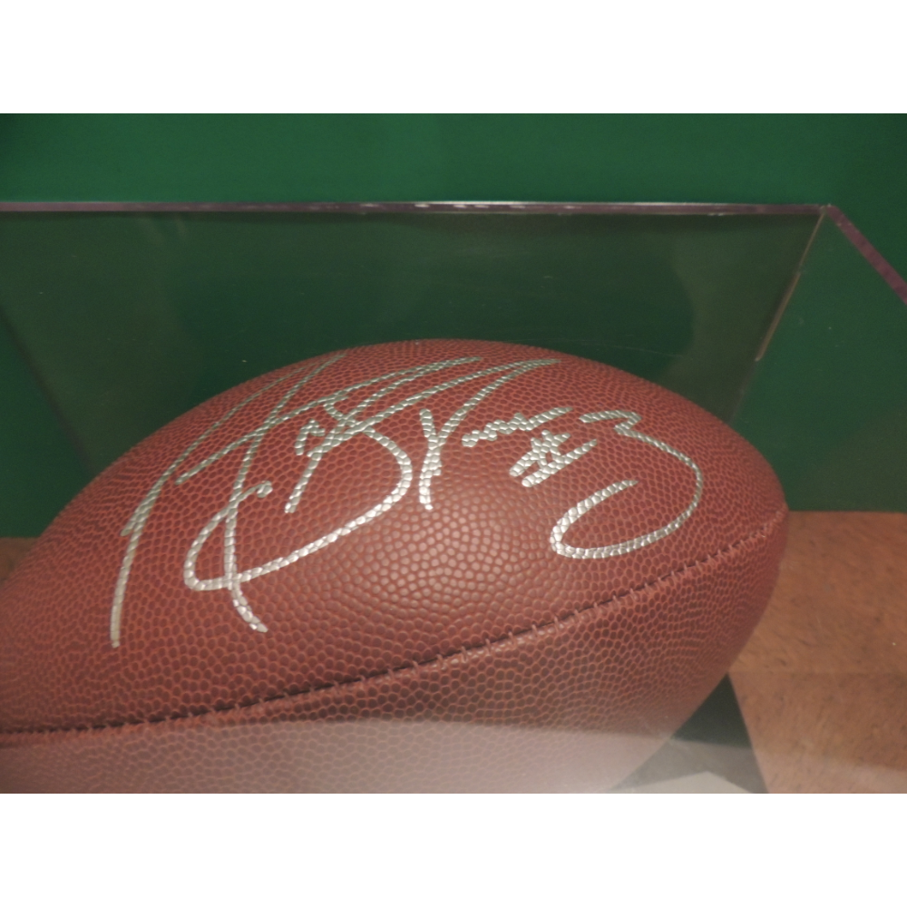 signed NFL Football - Matt Stover