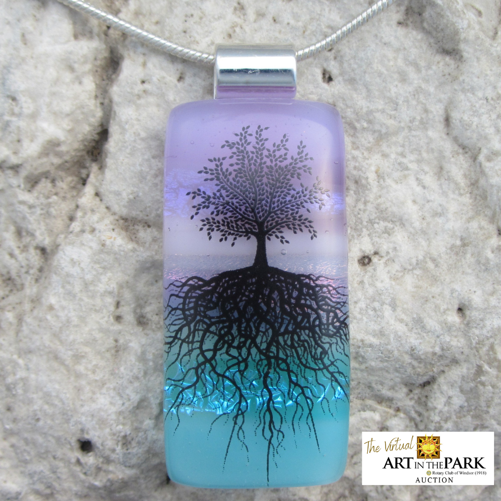 Spring Tree of Life Necklace