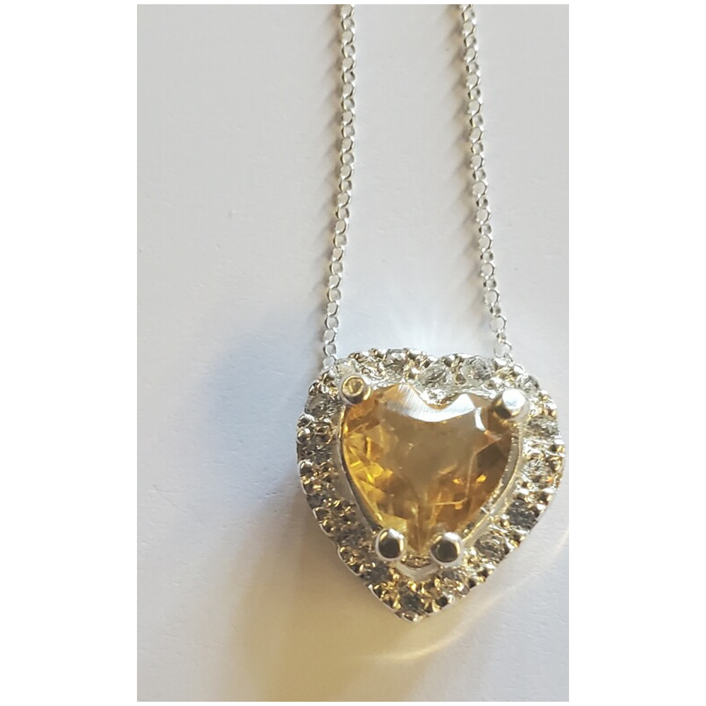 This is an 8-inch handmade pendant in diamond-cut