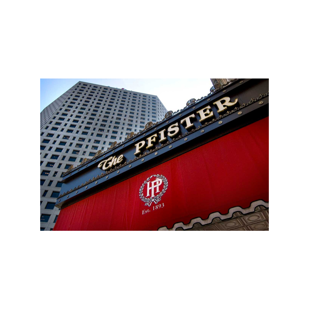 Pfister Hotel Bed and Breakfast Package