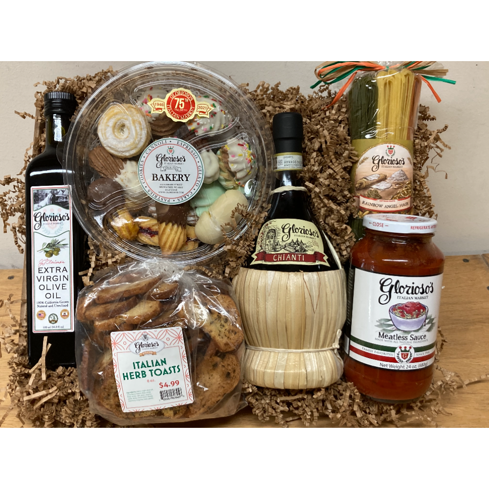Glorioso's Food and Wine Basket - 2021 Sponsorship Basket