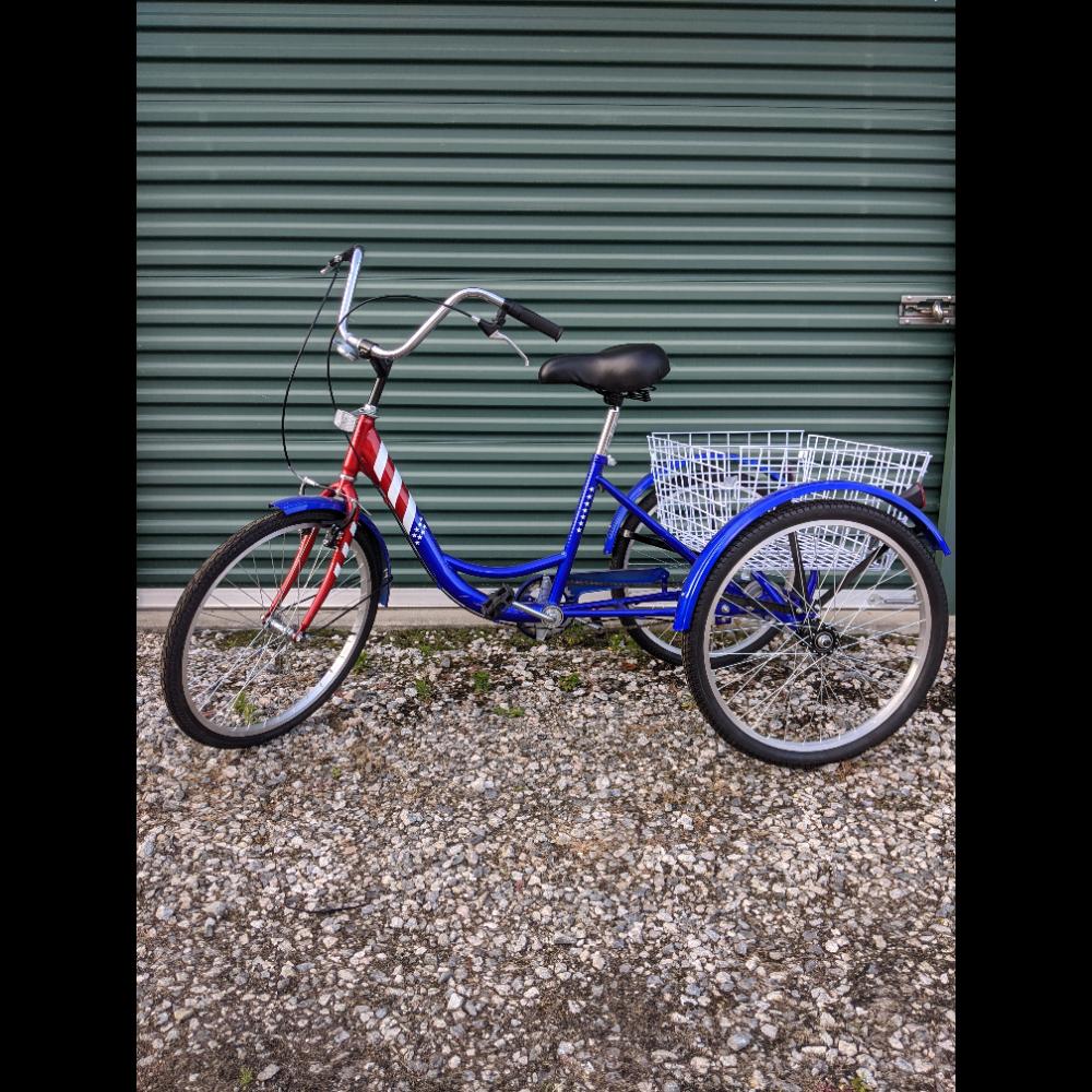 Patriotic Adult Tricycle