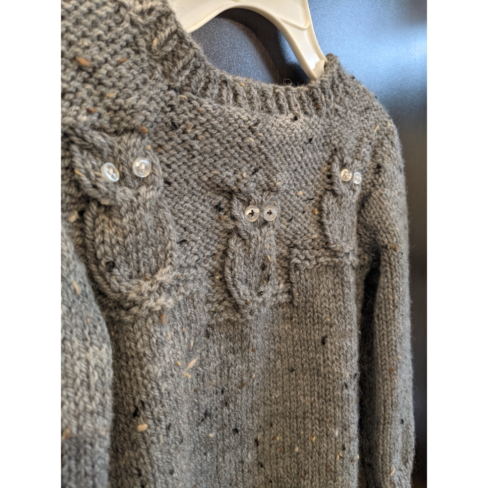 Handmade Owl Sweater and Guided Owl Walk