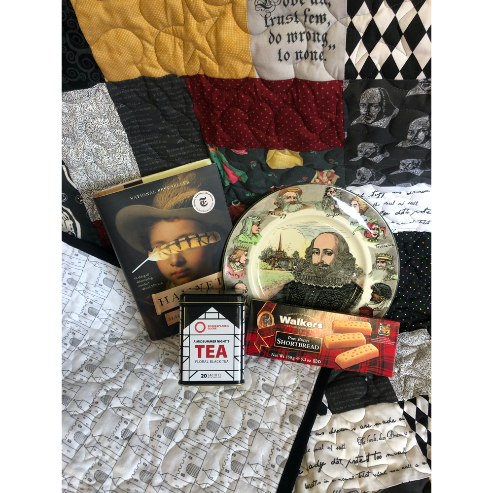 Shakespeare at Home- Quilt and Book Bundle