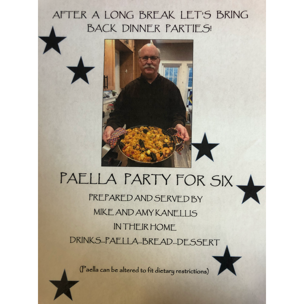 Paella Party for Six