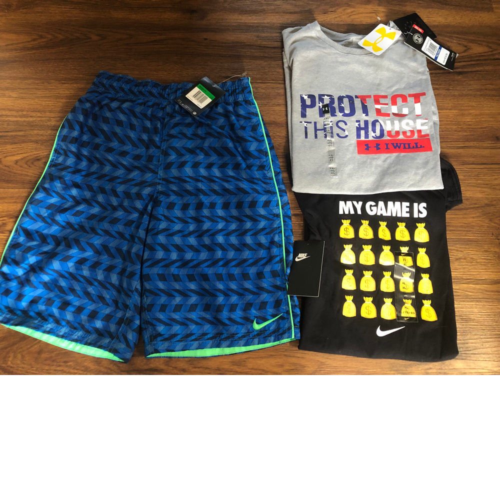 Youth L/XL Shorts and T-Shirts