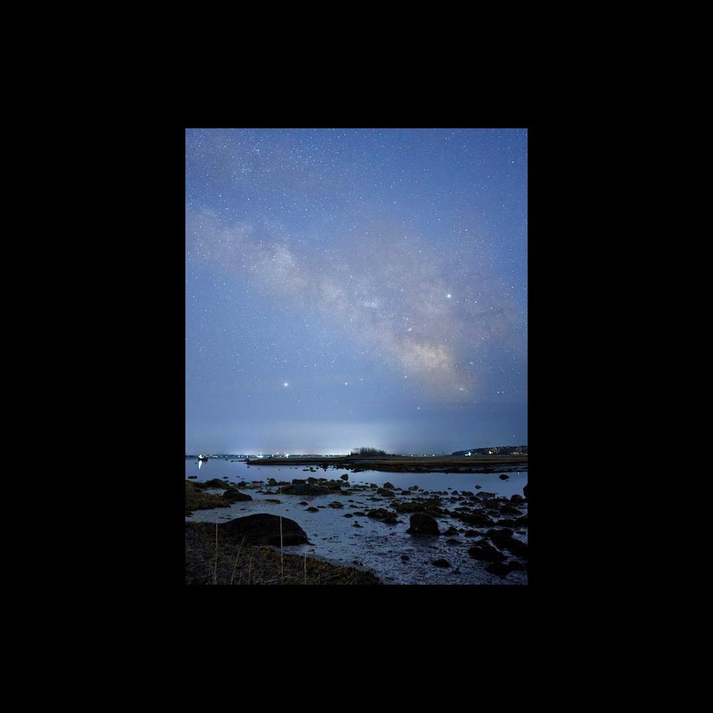Milky Way Over Stewart's Island - Print