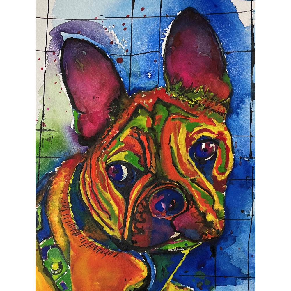 Pet Portrait by Fred Smith