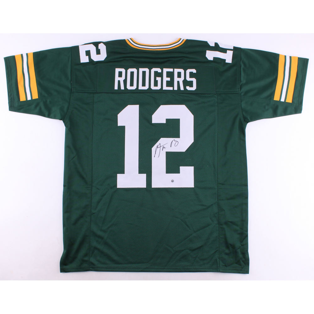 Autographed Aaron Rodgers Jersey
