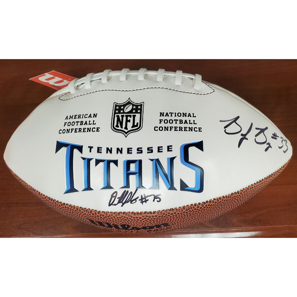 Tennessee Titans Autographed Football