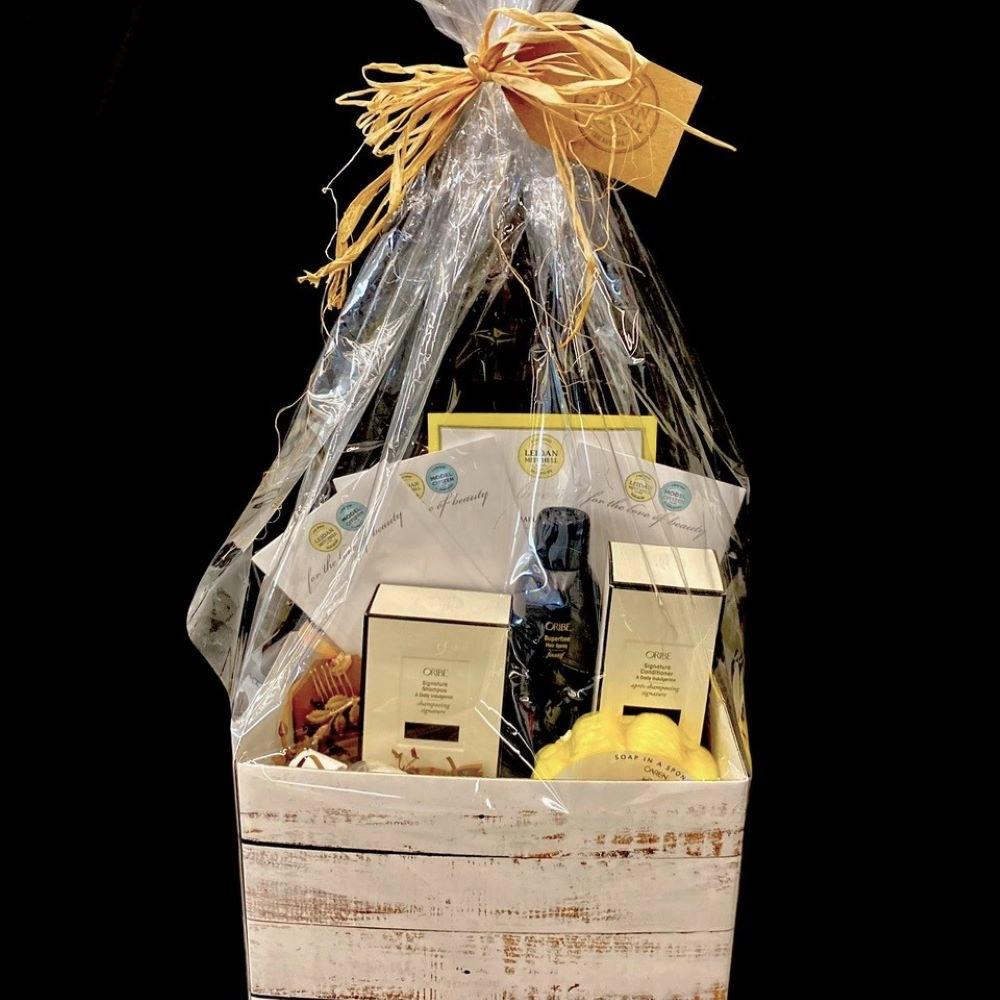 Leidan Mitchell Salon & Spa Gift Basket
