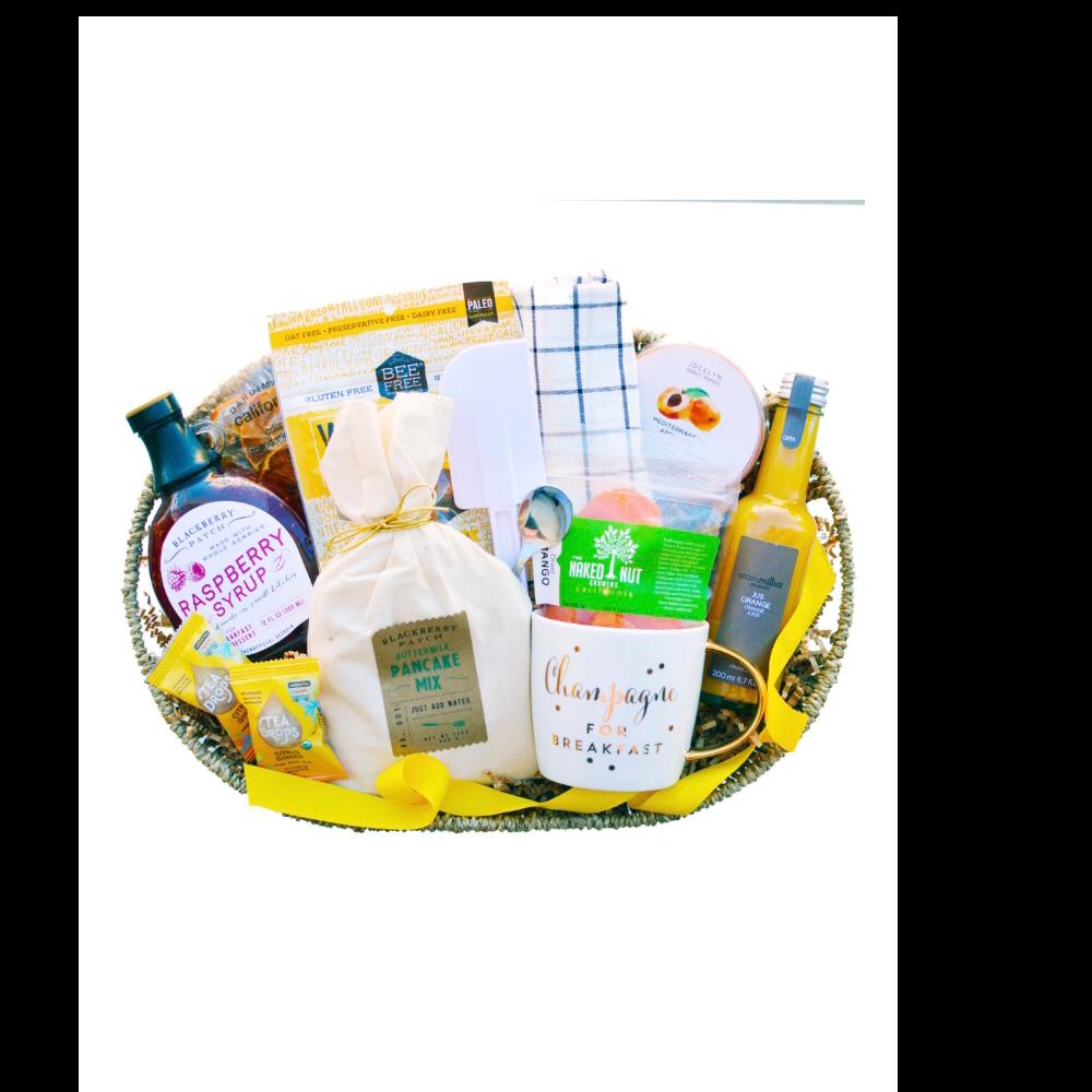 Breakfast gift basket just add champagne
